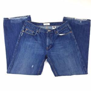 Armani Exchange Boot Cut Blue Jeans Size 34X30